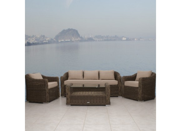 International Home Miami Atlantic Palma Conversation Set