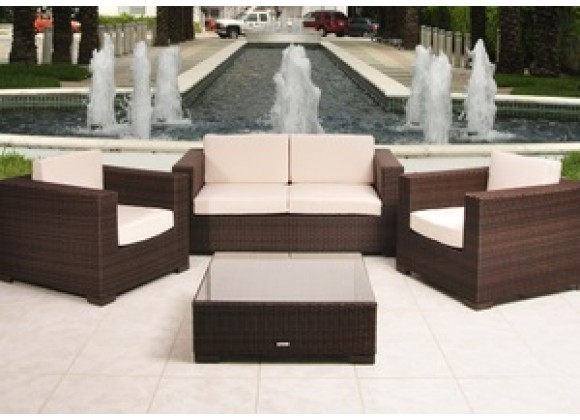 International Home Miami Atlantic Portofino Deep Seating Set