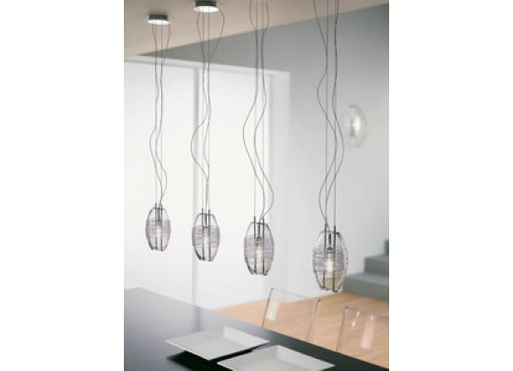 Illuminating Experiences Oty Series Halogen Glass Pendant - KIOTO18S