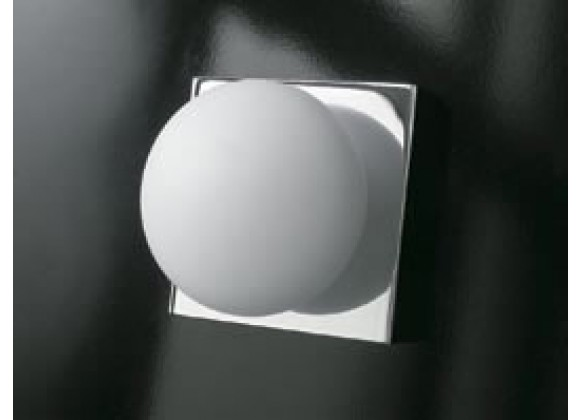 Illuminating Experiences Bolla Series Wall and Ceiling Mount in Satin Nickel  or Chrome