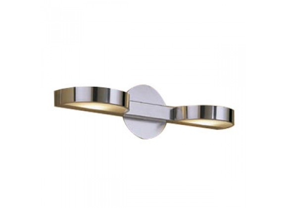 Illuminating Experiences Linear Series 2 Light Wall Lamp Sconce - H1418
