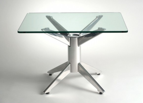 Knifty Aluminum End Table