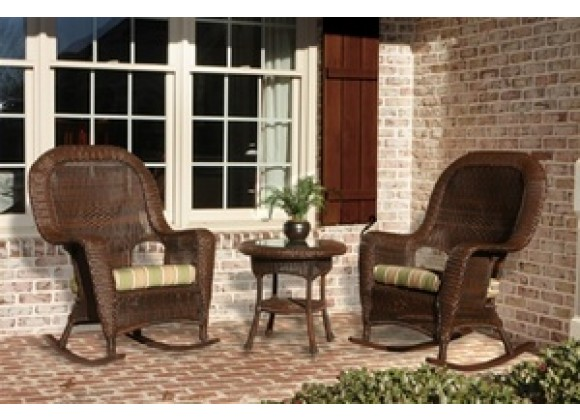 Tortuga Outdoor 2 Sea Pines Rockers & Side Table Set