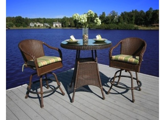Tortuga Outdoor Sea Pines 3 Piece Bar Set