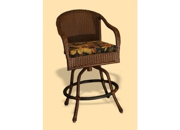 Tortuga Outdoor Sea Pines Swivel Bar Chair