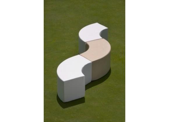 La Fete Arc - Curved Bench