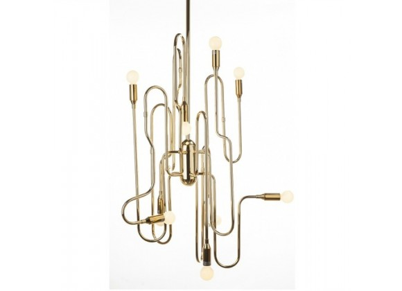 Stilnovo The Trombone Chandelier