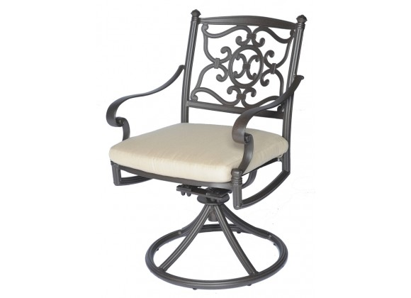 Meadow Decor Kingston Swivel Rocker