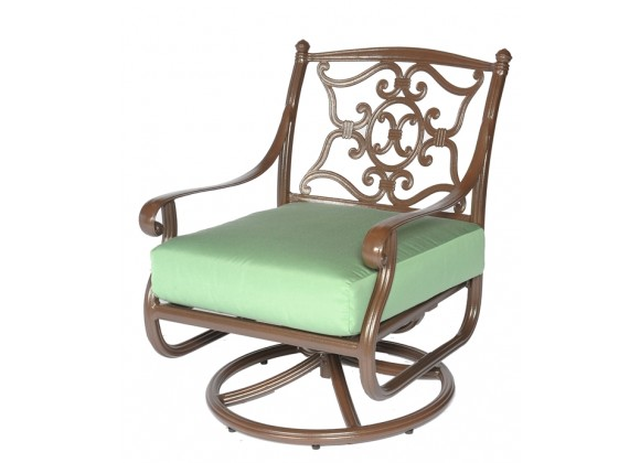 Meadow Decor Kingston Swivel Club Chair