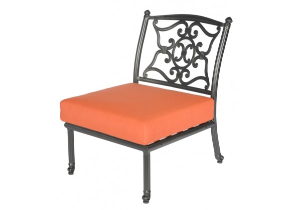 Meadow Decor Kingston Armless Chair