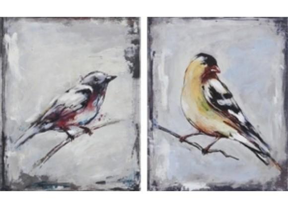 Ren-Wil The Galapagos Finch Set of 2