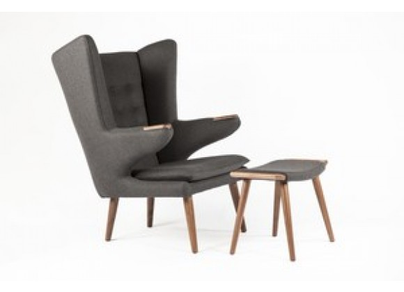 Stilnovo The Olsen Lounge Chair with Ottoman