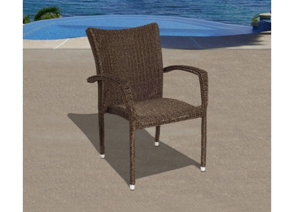 International Home Miami Atlantic Bari Armchair Set of 4