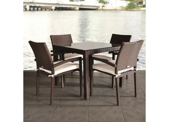 International Home Miami Atlantic Liberty 5-pc Dining Set