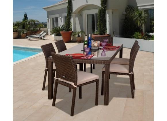 International Home Miami Atlantic Liberty Classic Dining Set of 7