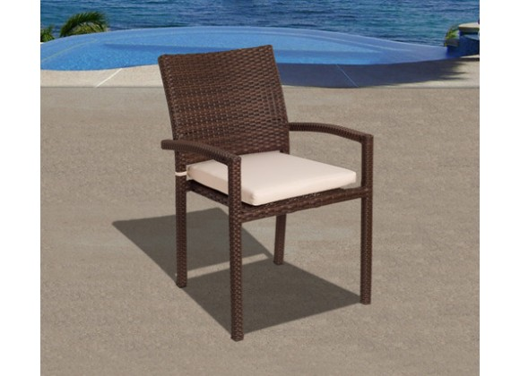 International Home Miami Atlantic Liberty Armchair Set of 4
