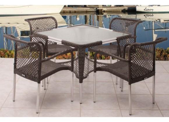 International Home Miami Atlantic Soho 5-pc Dining Set