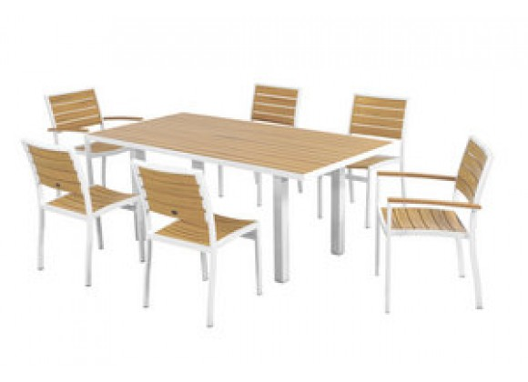 POLYWOOD¨ Euro 7-Piece Dining Set