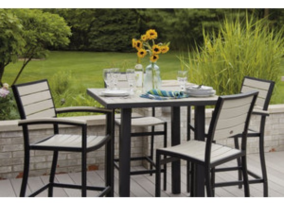 POLYWOOD¨ Euro 5-Piece Dining Set
