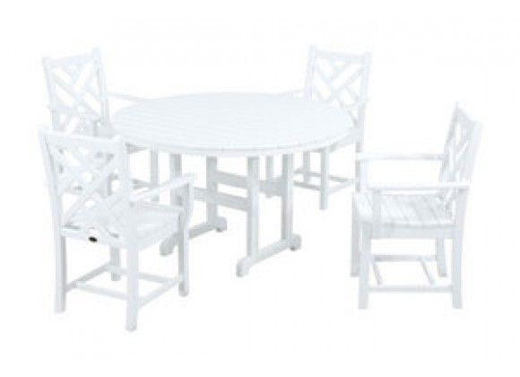 POLYWOOD¨ Chippendale 5-Piece Dining Set