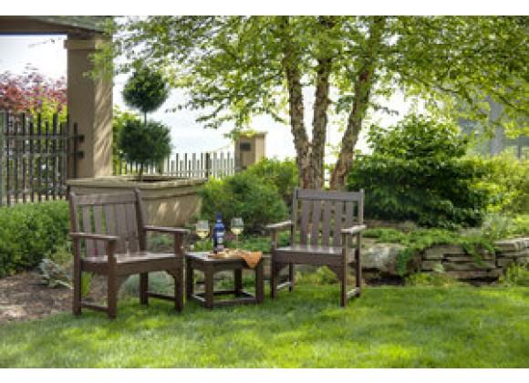 POLYWOOD¨ Vineyard 3-Piece Garden Chair Set