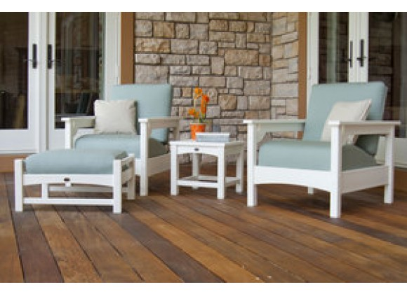 POLYWOOD¨ Club 4-Piece Deep Seating Set