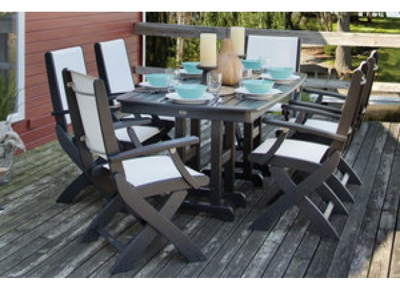 Poly-Wood Coastal 7-Piece Dining Set