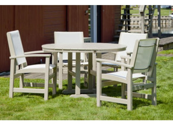 Poly-Wood Coastal 5-Piece Dining Set