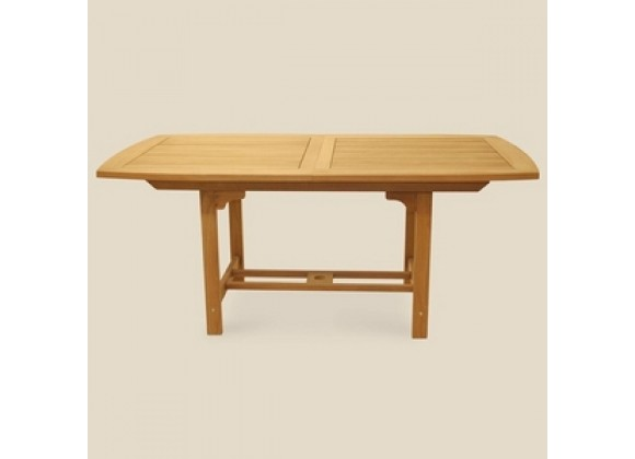 "Royal Teak 72/96"" Family Expansion Table - Rectangular"