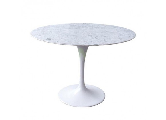 Stilnovo The Marble Tulip Dining Table with Size Options