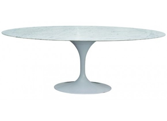 """Stilnovo The Marble Tulip Dining Table - 60"""" or 79"""""""