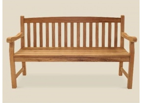 Royal Teak Classic Three-Seater Bench