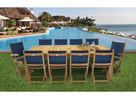 Royal Teak Sailmate Folding Side Chair