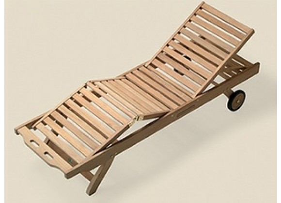 Royal Teak Sun Bed