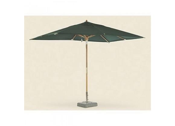 Royal Teak 10' Deluxe Umbrella - Green