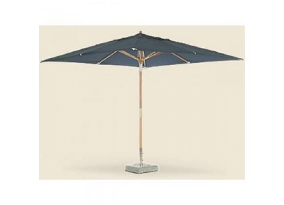 Royal Teak 10' Deluxe Umbrella - Blue