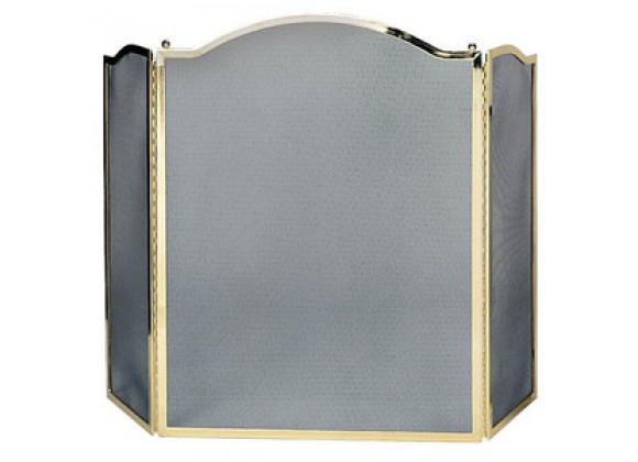 Fireside America 3 Panel Center Arch Screen