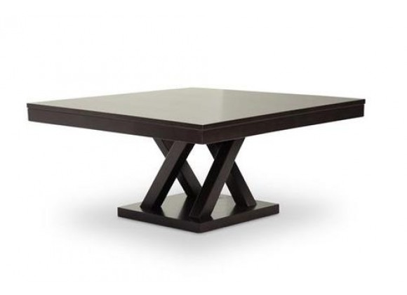 Baxton Studio Everdon Dark Brown Modern Coffee Table
