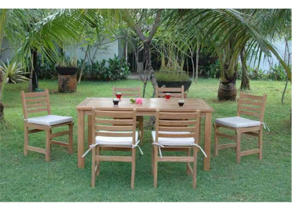 Anderson Teak Montage Windham Collection Dining Set