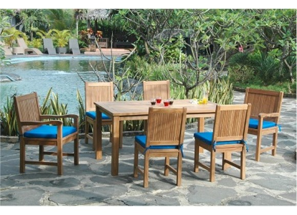 Anderson Teak Montage Chester Collection Dining Set