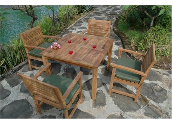 Anderson Teak Montage Victoria Collection Dining Set