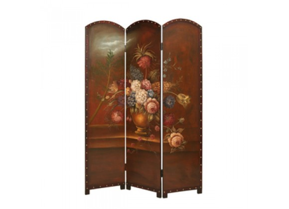 Screen Gems Painted Floral Bouquet Screen