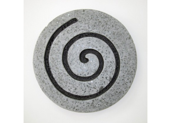 "Screen Gems 14"" Sandstone Circle Design Wall Art - Set of 2"