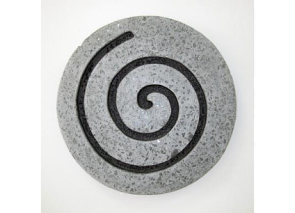 "Screen Gems 28"" Sandstone Circle Design Wall Art - Set of 2"