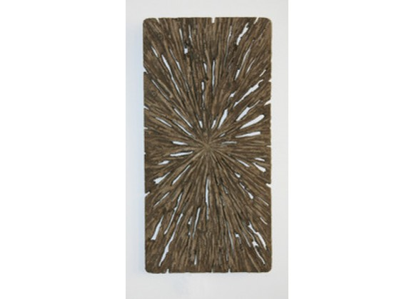 "Screen Gems 12"" Long Square Rotten Wood Wall Art - Set of 2"