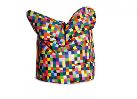 Sitting Bull Fashion Bean Bag - Happy Pixels