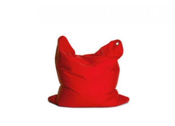 Sitting Bull Medium Bean Bag - Flame Red