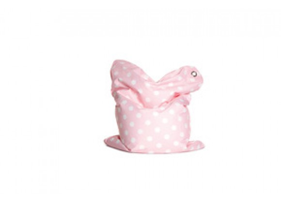 Sitting Bull Mini Fashion Bean Bag - Bebe Pink