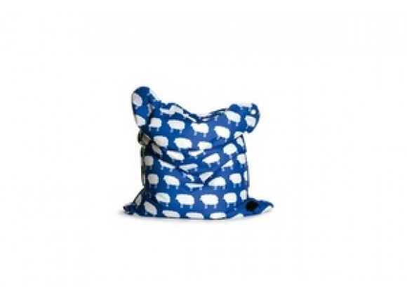 Sitting Bull Mini Fashion Bean Bag - Happy Sheep