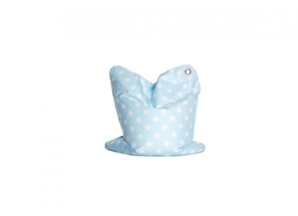Sitting Bull Mini Fashion Bean Bag - Bebe Blue